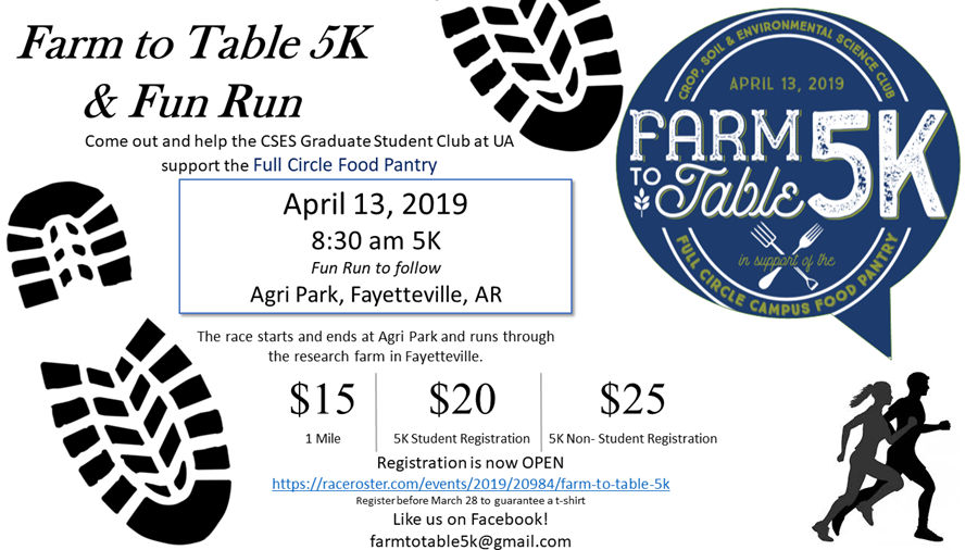 Farm to Table 5K graphic